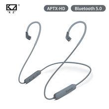Ak kz fio sem fio do módulo da elevação do cabo 5.0 aptx hd de bluetooth com 2pin para kz zs10 pro/zst/as06/as10/as16/zsn pro zsx c10 v90