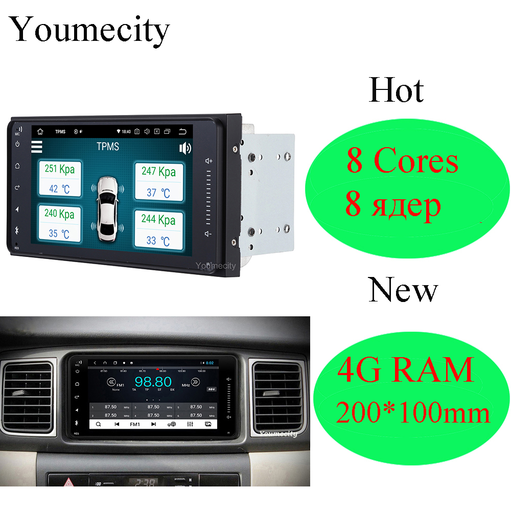 Android Car Radio Stereo Audio Player for Toyota Camry Avalon AVanza Granvia Hiace Kluger Paseo Previa Prius Sienna Solaracar radio stereotoyota prius radiocar radio toyota -