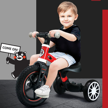 Sport Balance Baby Bicycle For 1-4 Year Old Kids Use Kumamon Push Bike With Toddlers Pedal Scooter Bicycle with Footrest