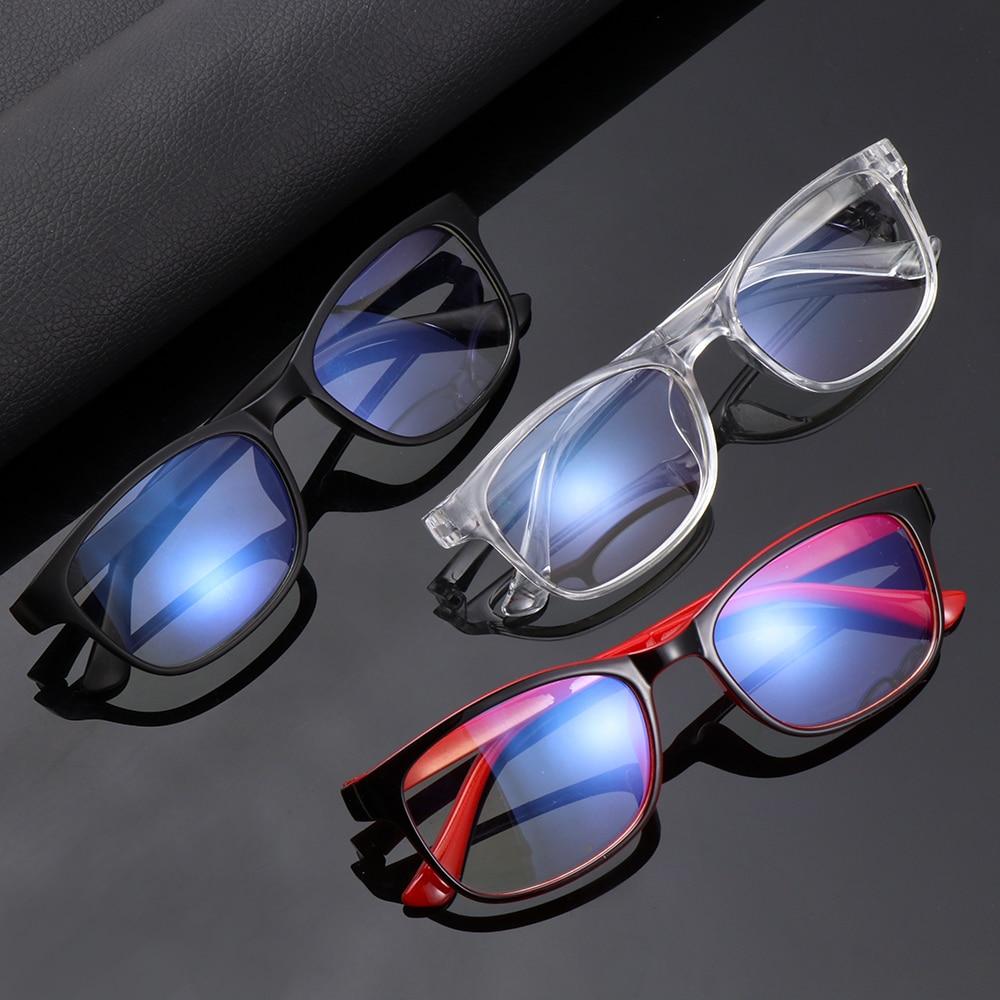Gafas de bloqueo de luz azul de moda Unisex, lentes transparentes, gafas para ordenador, gafas, gafas para hombres, gafas para jugar con luz azul