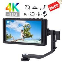 5 אינץ IPS DSLR מצלמה שדה צג 4K HDMI FHD 1920x1080 LCD עבור Zhiyun Weebill Stablizer מצלמות ירי וידאו קולנוע