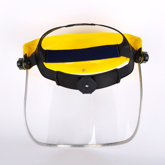 Anti-Saliva Dustproof MaskTransparent PVC Safety Faces Shields Screen Spare Visors Head Face Respiratory tract Protection 3