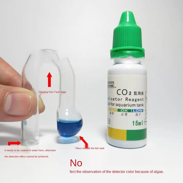 CO2 Diffusion Carbon Dioxide Tester PH Bubble Counter 22