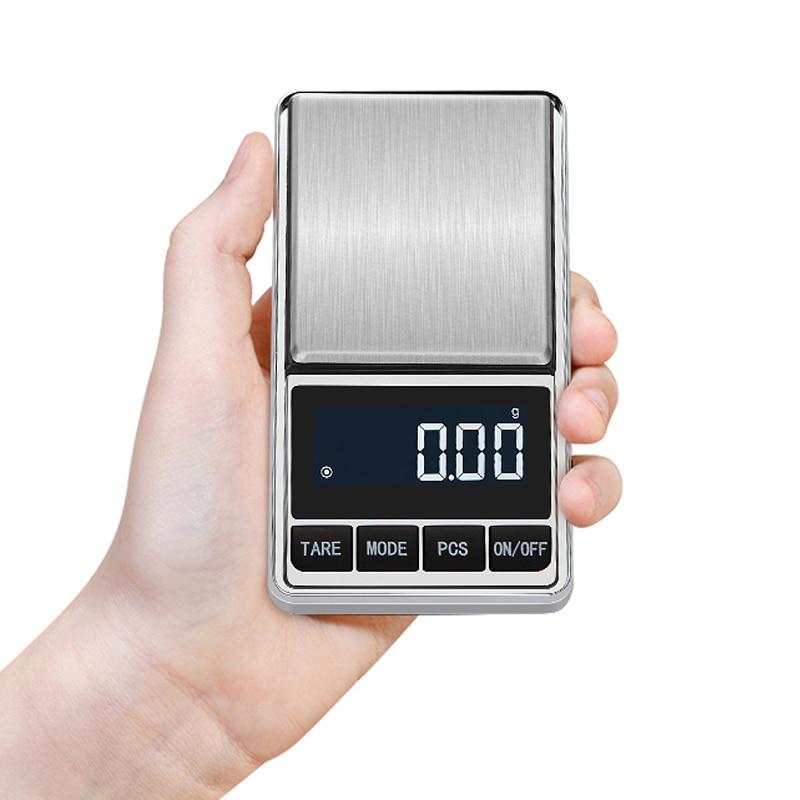 Цифровые карманные весы точные ювелирные весы грамм вес для кухонных ювелирных изделий баланс веса-4