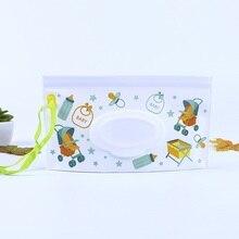 1 шт. Эко-дружественные влажные салфетки диспенсер Детские салфетки контейнер EVA чехол дорожный клатч держатель многоразовый портативный