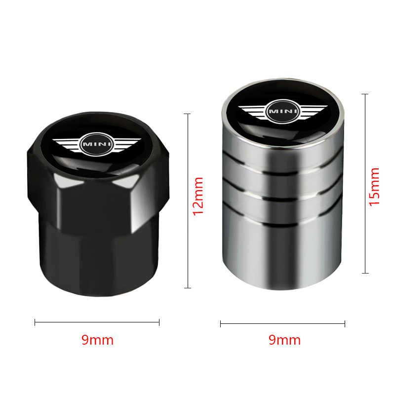4 Stuks Auto Wheel Bandventielen Tyre Air Caps Case Voor Bmw Mini Cooper R56 R50 R53 F56 R60 2011 2012 2013 2018 2019 Auto Accessoires