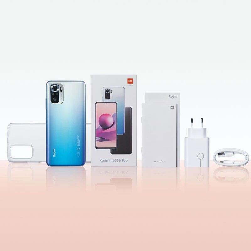 Globale Version Xiaomi Redmi Note 10 S 6GB 64GB/128GB Smartphone 10 S 64MP Quad Kamera helio G95 AMOLED DotDisplay 33W 5000mAh 6