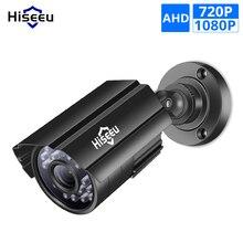 Hiseeu 5MP 1080P AHD Camera Metal Case Outdoor Waterproof Bullet CCTV Camera Surveillance Camera for cctv DVR system Security