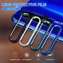 Для huawei P30 Pro P20 mate 30 металлическое защитное кольцо для задней линзы+ Закаленное стекло пленка для объектива камеры для Honor 20 i защита экрана