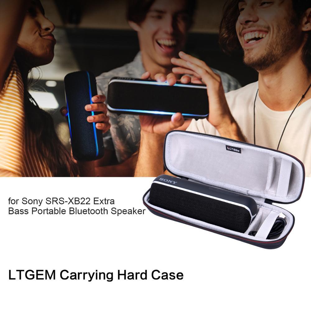 Ltgem Eva Hard Case For Sony Srs Xb22 Extra Bass Portable Bluetooth Speaker Speaker Accessories Aliexpress