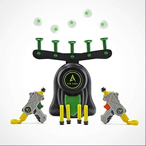 Floating Ball Shooting Game Air Shot Hovering Foam Ball for Holiday Season & Parties Fun Party Supplies(China)