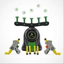 Nova arma de tiro flutuante pairando bola indoor jogo de alvo suspensão voando bola armas jogo de tiro crianças brinquedos presente