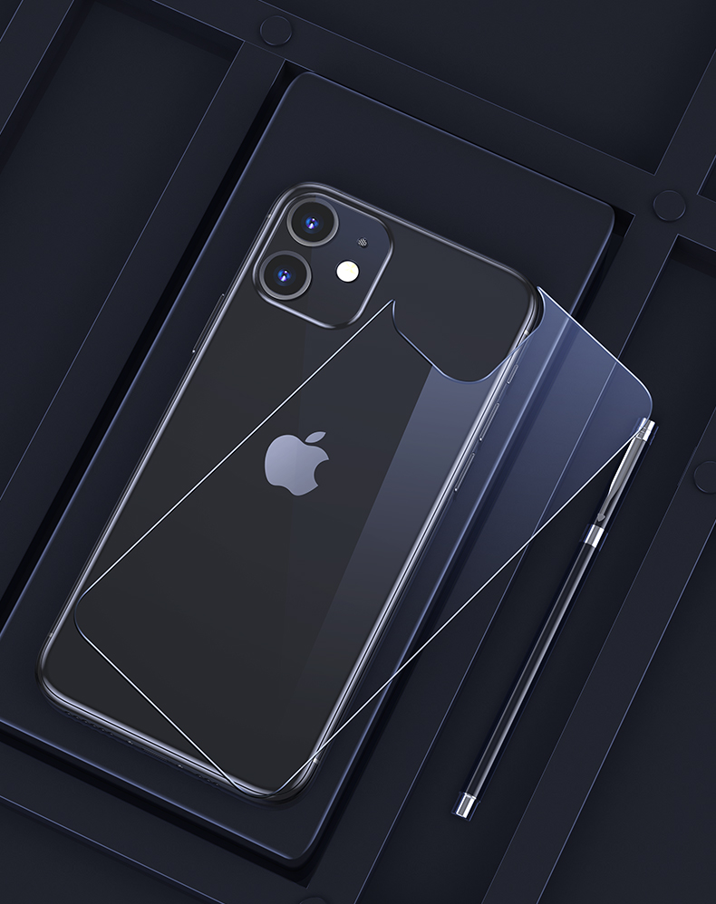 iPhone 12 Pro Max Tempered Glass Case  4