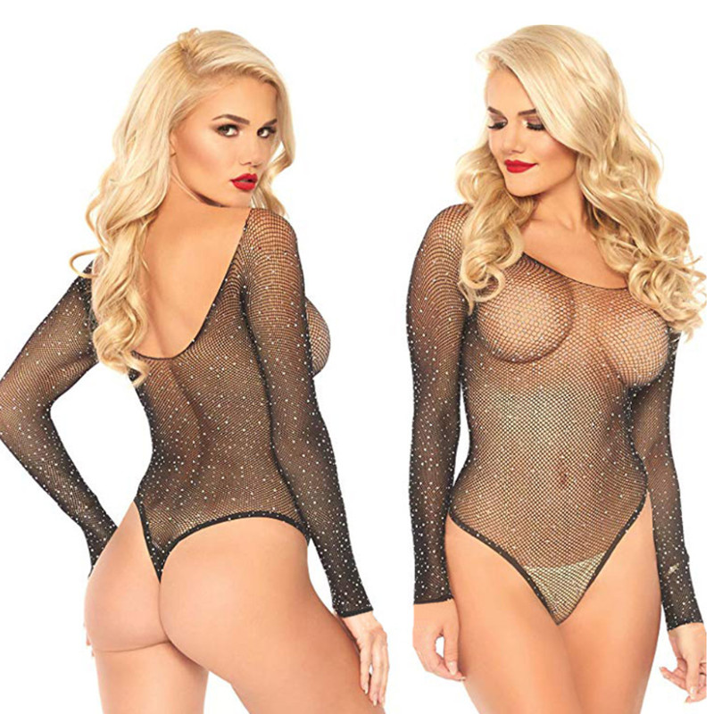 <font><b>Sexy</b></font> Erotic <font><b>Dress</b></font> Lingerie Plus Size Women Hot Sex Underwear <font><b>Babydoll</b></font> Costumes Fishnet Lace Langerie Sleepwear <font><b>Dress</b></font> Costumes image