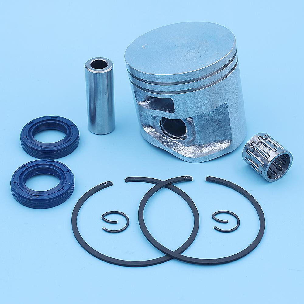 47mm Piston Ring Oil Seal Bearing Kit For Stihl MS311 MS 311 Chainsaw Replacement Spare Part 1140 030 2002 1140 030 2009