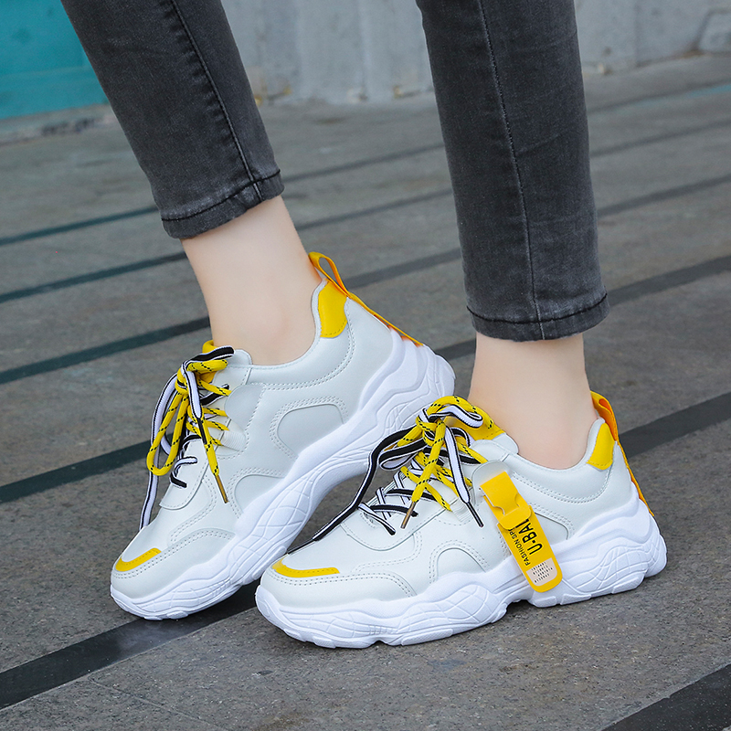 Sneakers Women Outdoor Running Shoes Sport Walking Shoes Cushioning Platform Breathable Filas Shoe Zapatos De Mujer