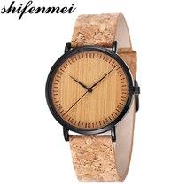 Shifenmei Watches Men Fashion Watch 2019 Wood
