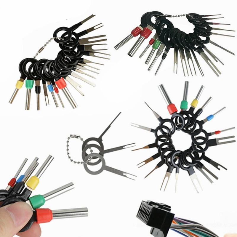 Terminal Ejector Kit Mudah Kit Alat Rilis ExtractorTerminal Removal Tool Pin Extractor Kit Perbaikan Alat Terminal Pin Remover