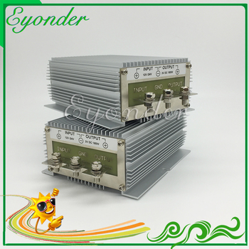 Non-isolation high power 600w 12v to 24v 25a dc dc step up boost power supply converter module for bus cars