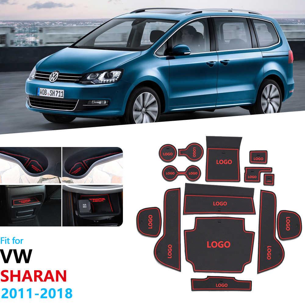 RUBBER CAR MATS for VOLKSWAGEN SHARAN 2010-/> SEAT ALHAMBRA 2010-/>