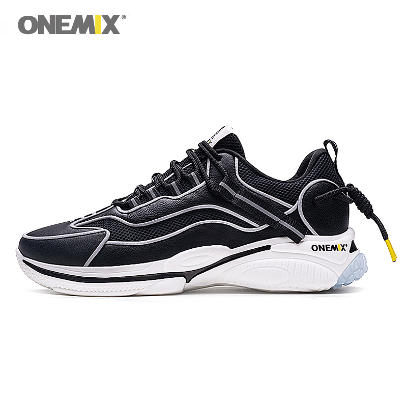 ONEMIX Retro Running Shoes Men's Sneakers For Women Wild Comfortable Casual Shoes Outdoor Travel Harajuk Jogging Shoes