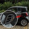 リアエアアウトレットベントアセンブリ装飾フレーム ABS ステッカー 3D 空気出口保護カバーのためのスマートフォーツー 453