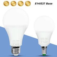 E14 LED Light E27 LED Bulb 220V Lampada Led 20W 18W 15W 12W 9W 6W 3W Spotlight Bulbs Decor Home Light 240V Spot Light Table Lamp