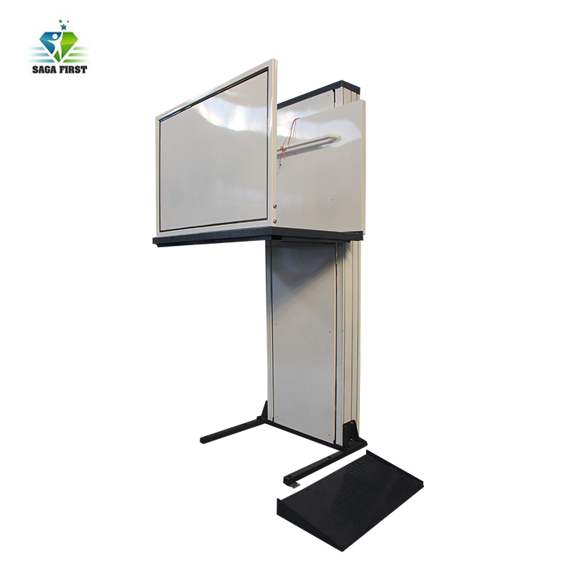 Vertical Wheelchair Lift Platform Convenient Home Lift For Disabled People