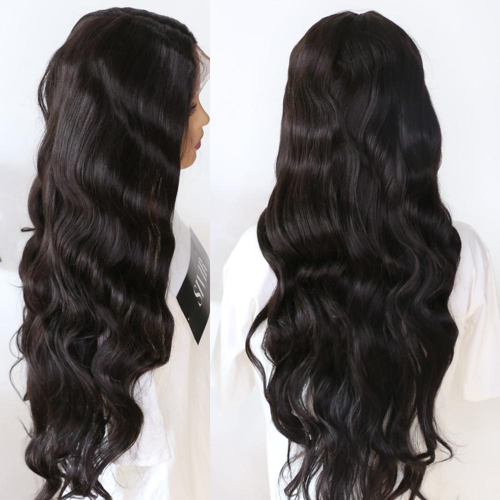 Sivir perucas sintéticas do laço da onda
