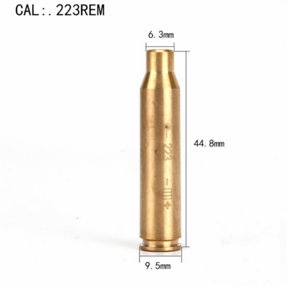 High Quality CAL.223 Cartridge Red Laser Bore Sighter Boresighter Sighting Sight Boresight Colimador For Hunting Rifle