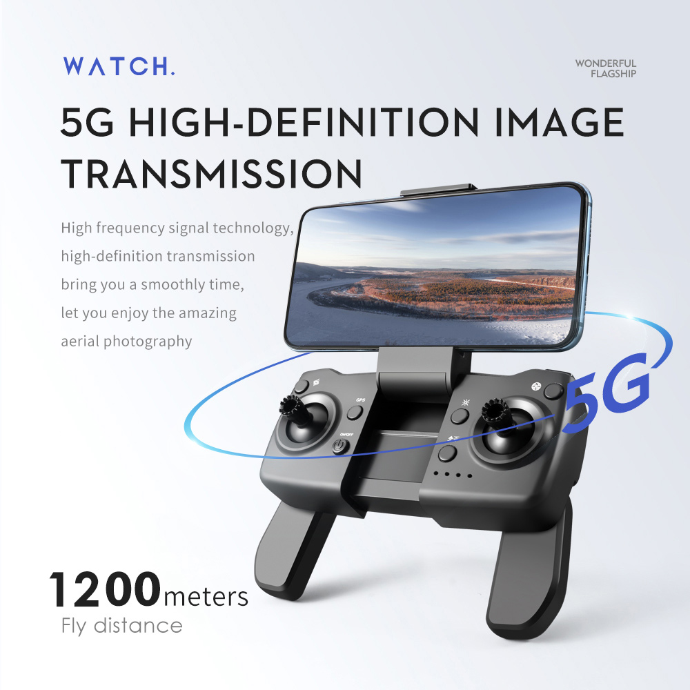 XYRC LS25 Pro GPS Drone 4k Professional 6K HD Dual Camera Brushless Aerial Photography RC Foldable Quadcopter 1.2KM Distance 6