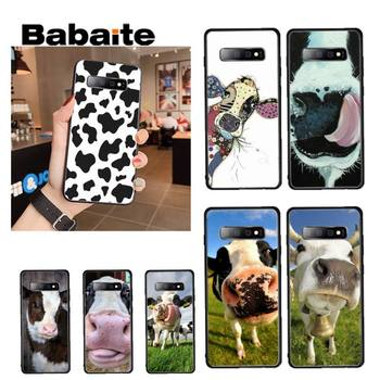 Babaite Cow Painted Phone Case for samsung a30 A30S a51 a50 a71 A40 A21 A21S a11 a91 A70 image