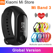 Global Version Xiaomi Mi Band 3 Smart Wristband Fitness Bracelet  Touch Screen OLED Message Heart Rate Time
