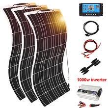 солнечная панель 12v 12 В 450 Вт комплект система зарядное устройство