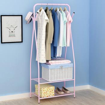 AsyPets Multifunction Drying Rack Metal Display Stand for Clothing Hat Storage