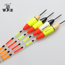 Buy W.P.E Brand 5pcs/lot New Fishing Float Barguzinsky Fir Float Size 5g/6g/7g/8g Carp Fishing 28.5cm-30.5cm Fishing Tackle Vertical directly from merchant!
