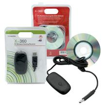 Беспроводной USB контроллер Vococal, геймпад для ПК, компьютера, ноутбука, игровой ресивер, адаптер для XBOX 360, Xbox 360, аксессуары для игр, для игр, для XBOX 360, для игр, аксессуары
