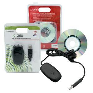Image 1 - Vococal USB Wireless Controller Gamepad PC Computer portatile Gaming ricevitore adattatore per XBOX 360 Xbox 360 X 360 accessori di gioco