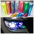 1 rolle Shiny Chameleon Auto Auto Styling scheinwerfer Rückleuchten film lichter Ändern Farbe Auto film Aufkleber Auto Zubehör-in Autoaufkleber aus Kraftfahrzeuge und Motorräder bei