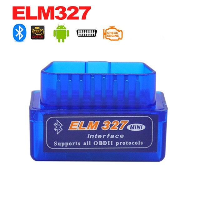 ELM327 V1.5 Bluetooth OBD2 сканер супер мини автомобильный двигатель диагностический сканер кода неисправности ELM327 для Android Symbian OBD2 сканер