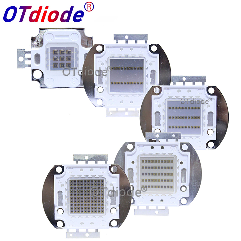 High Power LED Chip 730nm 850nm 940nm IR LED Infrared 1W 3W 5W 10W 20W 30W 50W 100W 850 Nm 940 Nm Emitter Light Lamp LED Diode