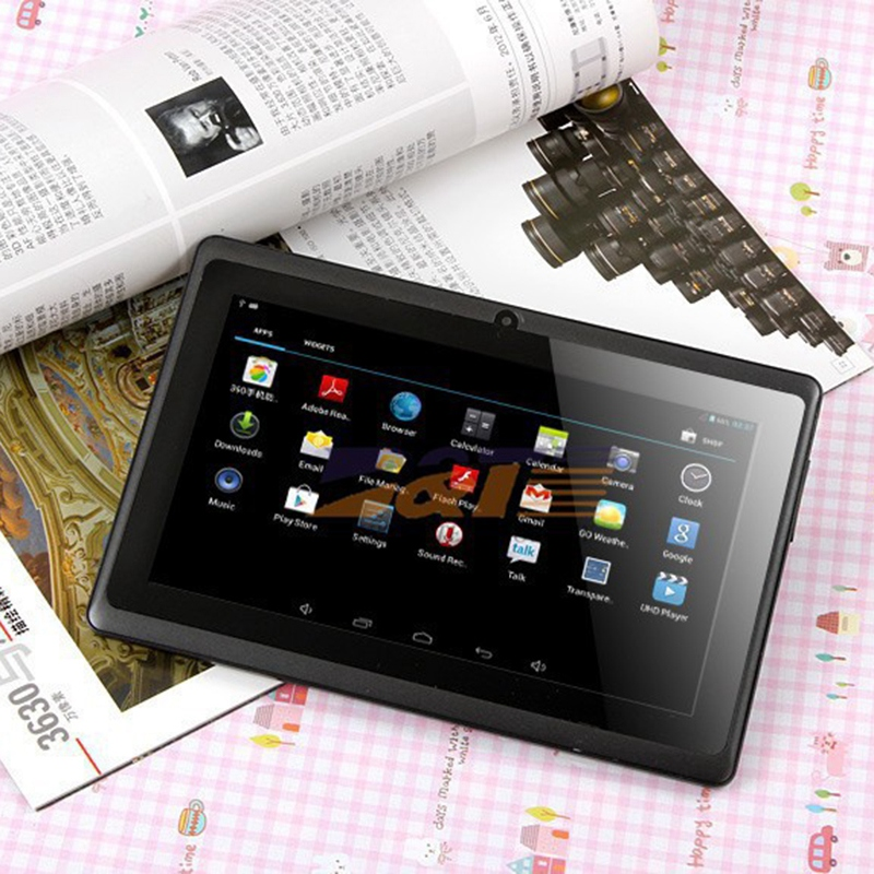 7 pouces enfants tablette Android Quad Core double caméra WiFi éducation jeu cadeau pour garçons filles, rose - 6