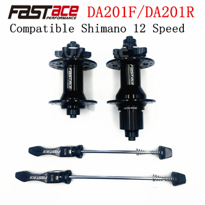 FASTACE DA201 F/R DEORE XT M8100 M7100 FH BH HUB 12s Hub 32H 135x10mm 100x9mm E-THRU Axle Bike 12 speed MICRO SPLINE Hub