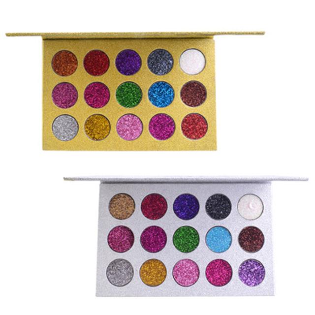 15 kolorów brokat diamentowy paleta cieni do powiek pigment wodoodporny paleta cieni do powiek długotrwały makijaż paleta cieni do powiek tanie tanio LISM CN (pochodzenie) DŁUGOTRWAŁY łatwe do noszenia Pełny rozmiar Powyżej ośmiu kolorów CHINA Cień do powiek AMT408