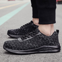 2019 Hot Sale New Outdoor Men's Sneakers Air Mesh Breathable Wear Resistant Sports Casual Labor Shoes Zapatillas Blancas Hombre