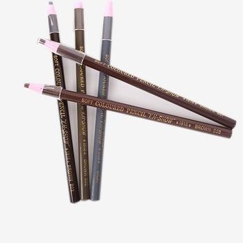 2Pcs Microblading Eyebrow Tattoo Pen Waterproof Permanent Makeup Eye brow Pencil Positioning Lip Eyebrow Tattoo supplies