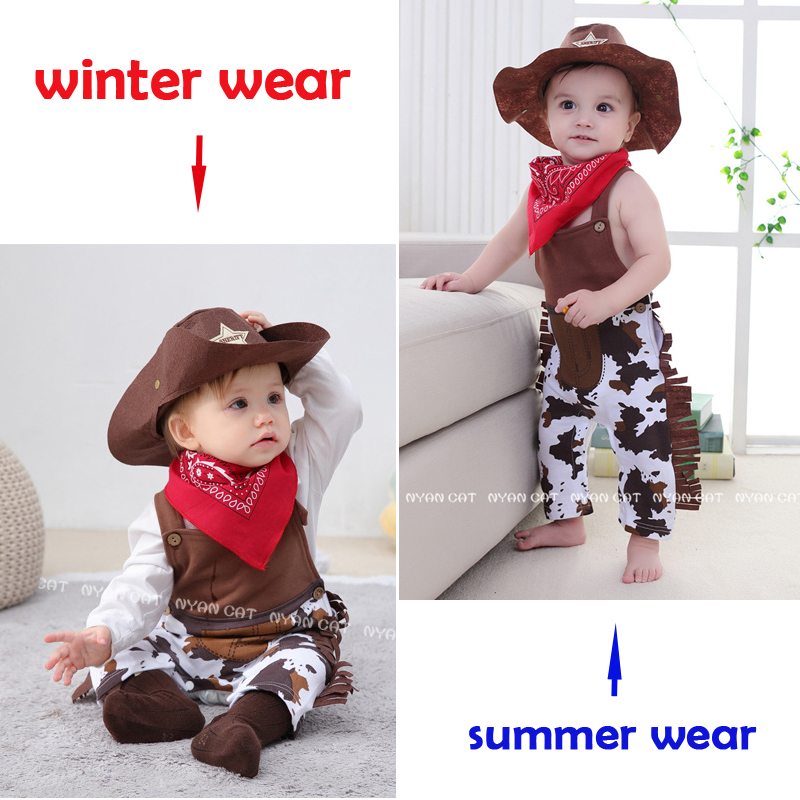 Umorden Cowboy Cow Boy Costume Rompers for Baby Boys Toddler Infant Halloween Christmas Birthday Party Cosplay Fancy Dress 5