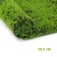 Artificial Moss Fake Green Plants Mosses Grass For Shop Patio Wall Decor DIY