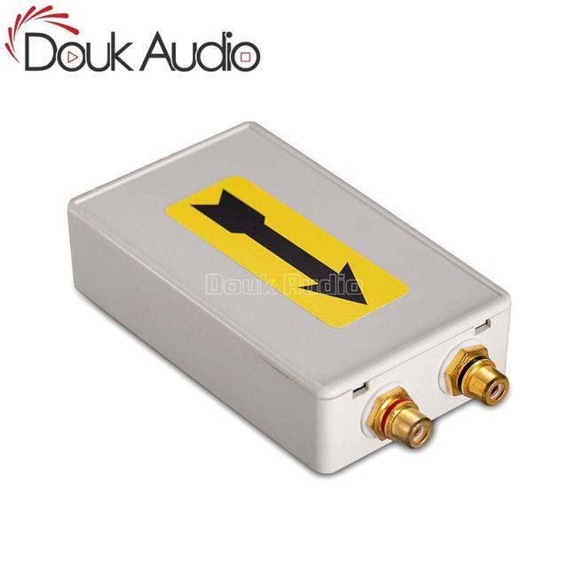 Douk Audio HiFi Mini Turntable Phono Preamp CD to LP Vinyl Audio Signal Converter Burn-in Device
