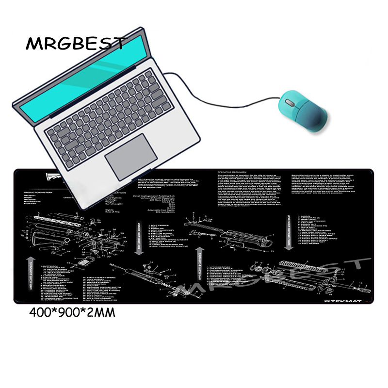 Купить большой игровой коврик для мыши mrgbest нескользящий ноутбука